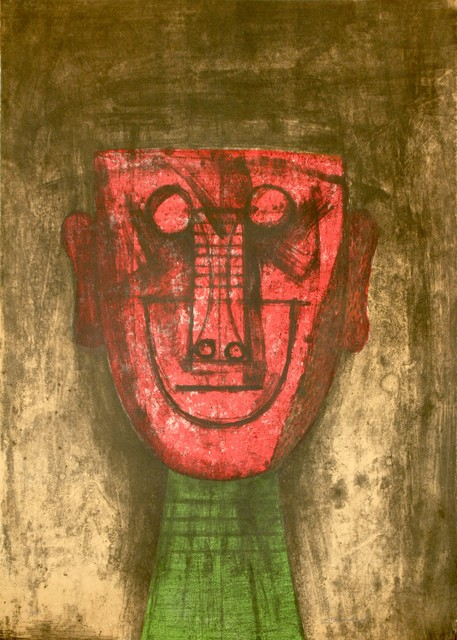 , 'Untitled (Red Face),' 1973, Zane Bennett Contemporary Art