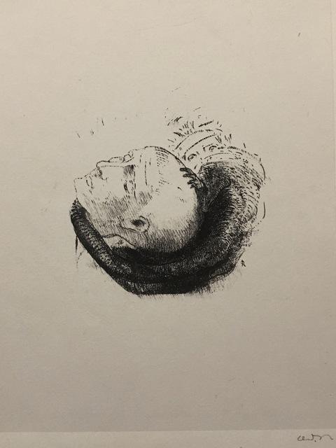 Odilon Redon, 'Visage Idéaliste', 1896, Galerie Céline Moine & LGFA