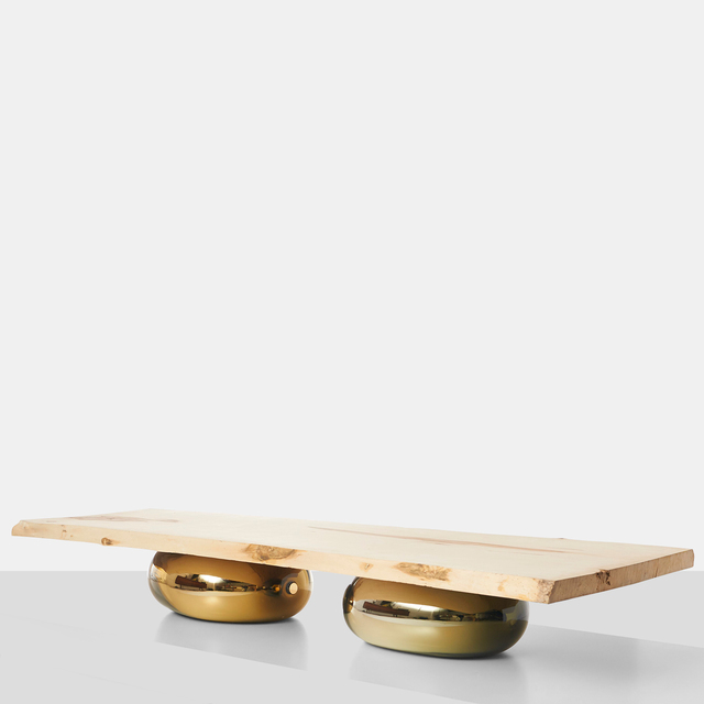 , 'Sycamore Coffee Table on Glass Bases,' 2016, Almond & Co.