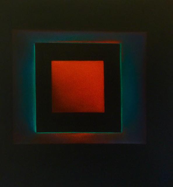 , 'Red Square Off Beat 19-15,' 2019, Ventana Fine Art