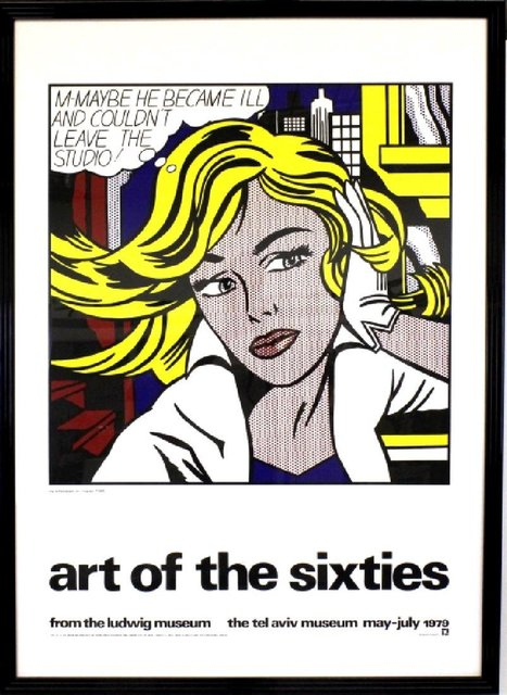 Roy Lichtenstein, ''art of the sixties'', 1979, Print, Offset lithograph on paper, Rudolf Budja Gallery