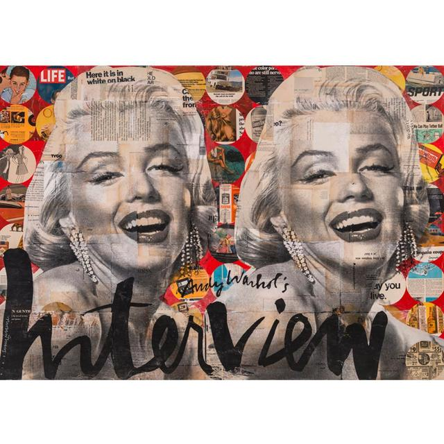 , 'YOU'VE GOT ALOT TO LIKE MARILYN ,' , Exhibit by Aberson
