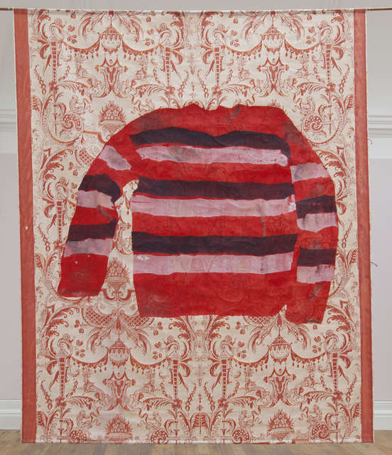 , 'Red, blue and white striped jumper,' 2017, Barakat Contemporary