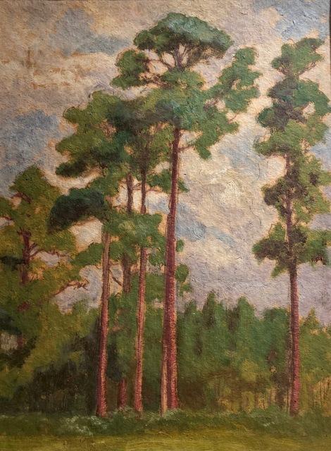 , 'Loblolly Pines in Summer,' 1920, Susan Calloway Fine Arts