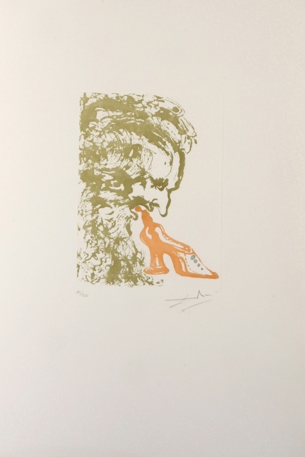 Salvador Dalí, '8 Mortal Sins Gluttony', 1966, Print, Etching, Fine Art Acquisitions Dali