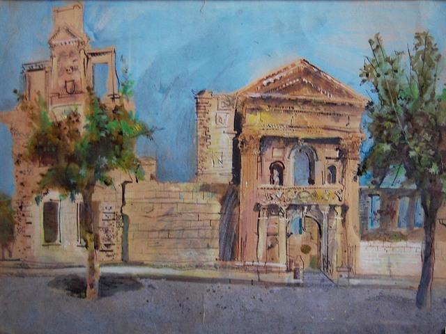 , 'Roman buildings  at Orange,' ca. 1980, Robert Eagle Fine Art