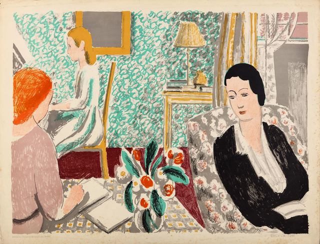 Vanessa Bell, 'The school room', Chiswick Auctions