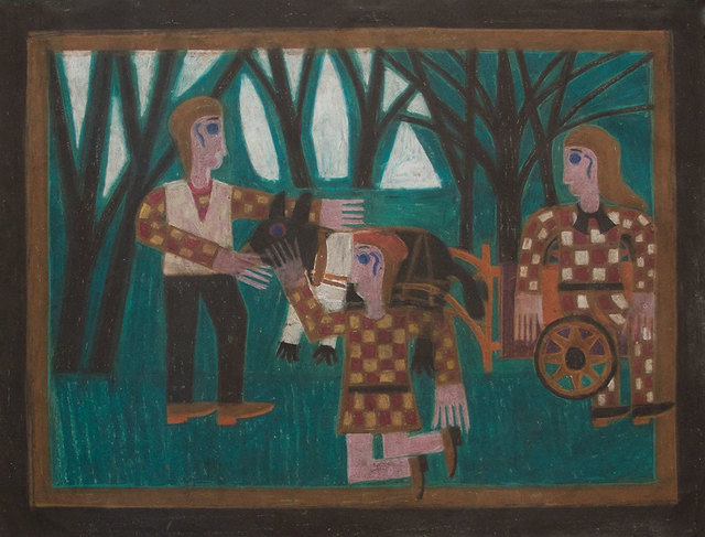 , 'Untitled (Three People in the Forest) ,' ca. 1968, David Lusk Gallery