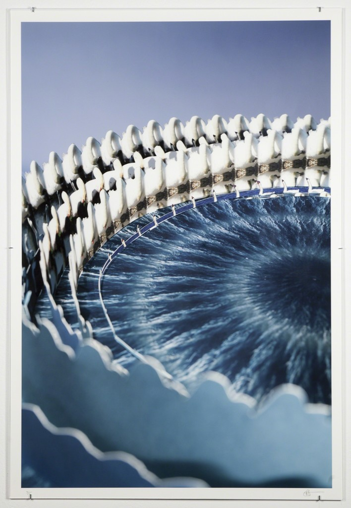 Eric Dyer, 'Swan Spirals,' 2014, Ronald Feldman Fine Arts
