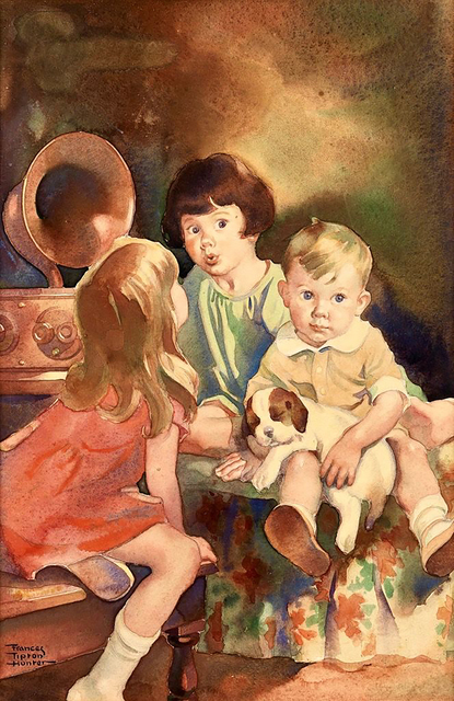 Frances Tipton Hunter, 'Bedtime Broadcast', 1930-1939, The Illustrated Gallery