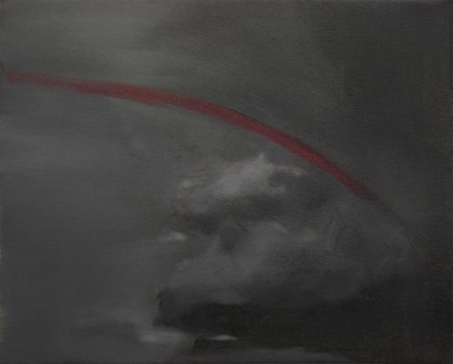 , 'Redsky,' 2013, Josedelafuente