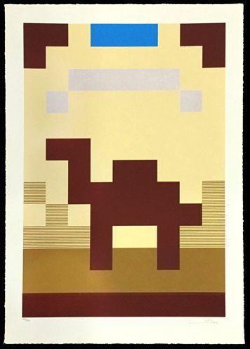 Invader, 'Camel', 2015, Taglialatella Galleries