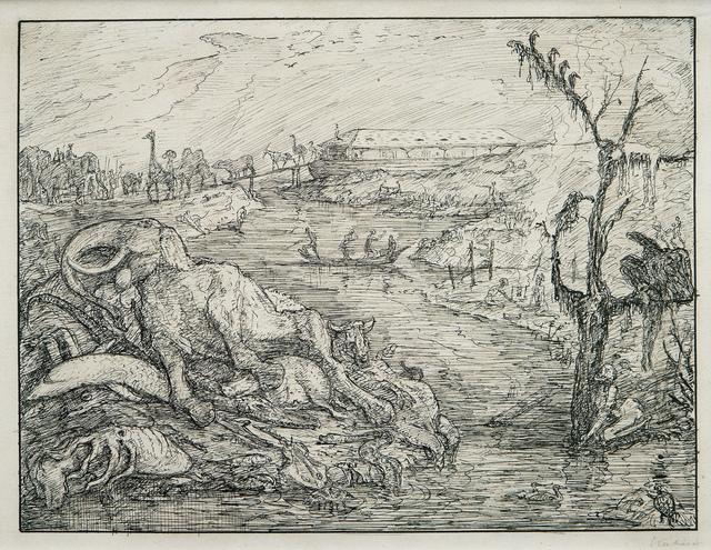 , 'Noah's Ark: The Landing,' 1911, W & K - Wienerroither & Kohlbacher