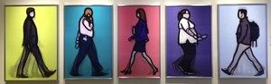 Julian Opie, 'Banker, Detective, Lawyer, Nurse and Student,' 2014, Vertu Fine Art