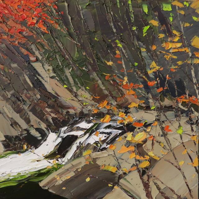 , 'Gorge Aberglaslyn,' 2017, Thackeray Gallery