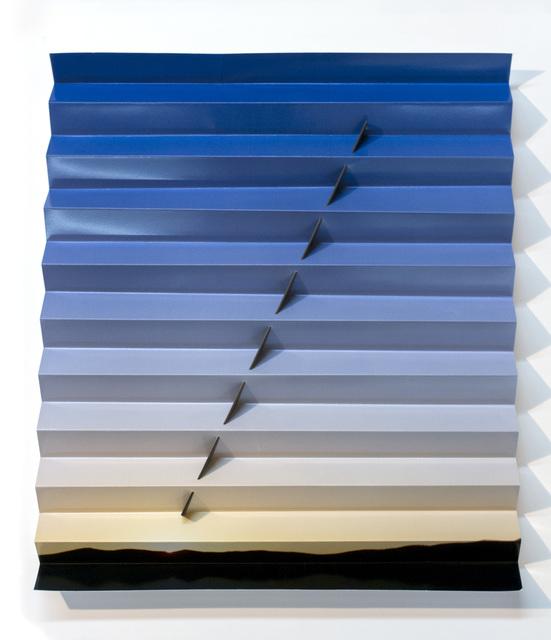 , 'Nevada Sunrise Sundial (One Line Angle),' 2015, GRIMM