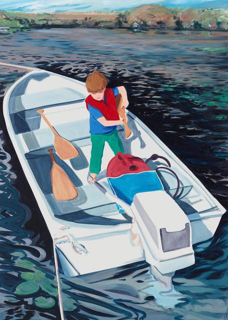 , 'Preparing the Boat,' 2017, Tayloe Piggott Gallery