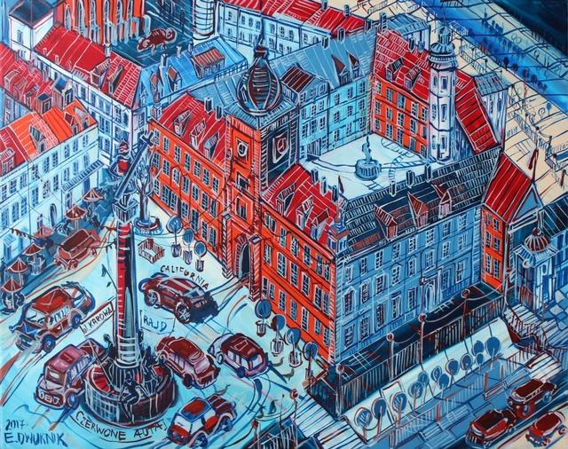 , 'The Castle Square,' 2017, Galeria Katarzyna Napiorkowska