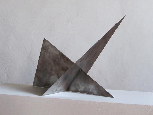 , 'durchdringung von zwei dreiecken,' 1965-80, Edition & Galerie Hoffmann