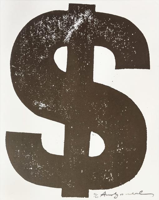 Andy Warhol, '$(1) FS II.277', 1982, Gallery Art