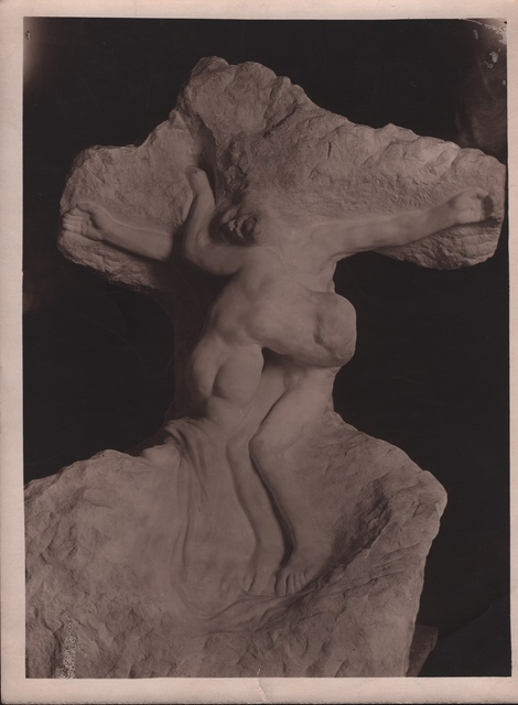 , 'Rodin's Christ and Mary Magdalene,' ca. 1900, Grob Gallery