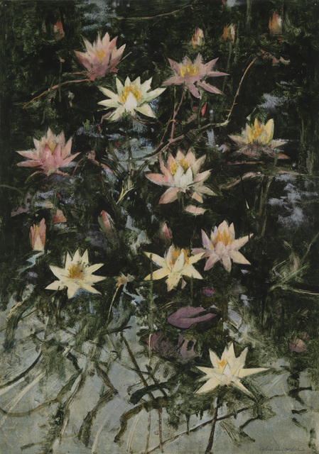 , 'Swamp Lilies,' 2019, Tayloe Piggott Gallery