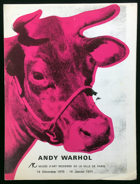 Andy Warhol, 'Andy Warhol Musee d'Art Moderne Catalog', 1970, Lot 180