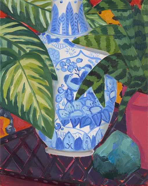 , 'Blue Bird Vase Study,' 2019, Hashimoto Contemporary