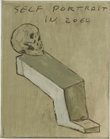 , 'Self portrait in 2060,' 2014, Annie Gentils