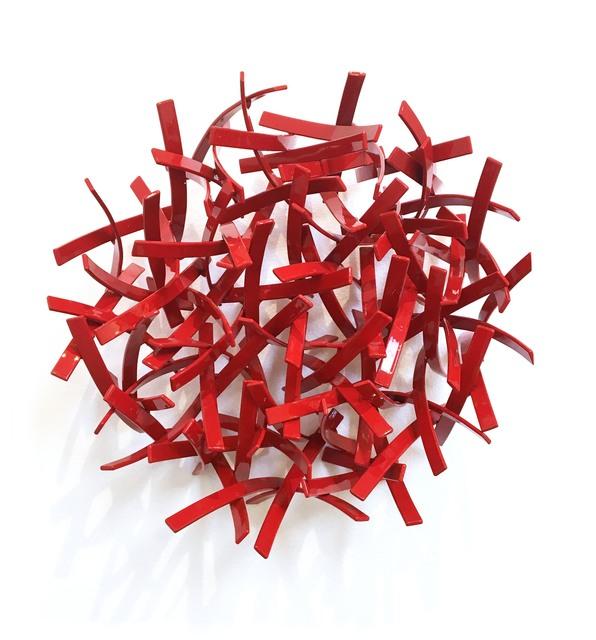 , 'Untitled Round - Red,' 2016, Joanne Artman Gallery