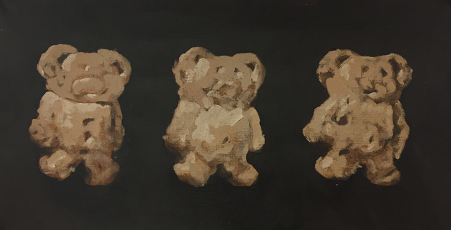, '3 Teddy ,' 2018, Tao Water Art Gallery