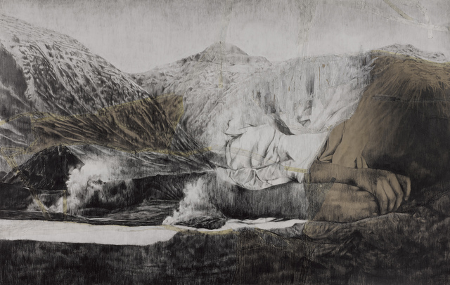 , 'Mountain oh mountain I,' 2016, 10 Chancery Lane Gallery