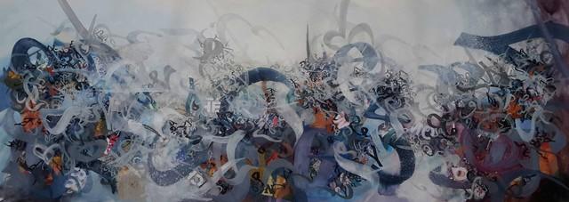 Khaled Al-Saai, 'Untitled', 2015, Albareh Art Gallery