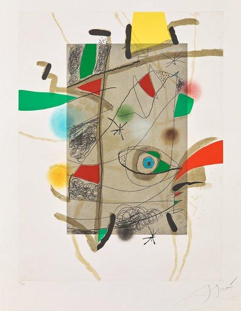 Joan Miró, 'Llibre dels sis sentits III', 1981, Galerie Raphael