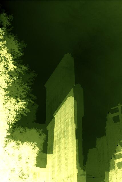 , 'Green Flatiron Building,' 2015, Galleri Bo Bjerggaard
