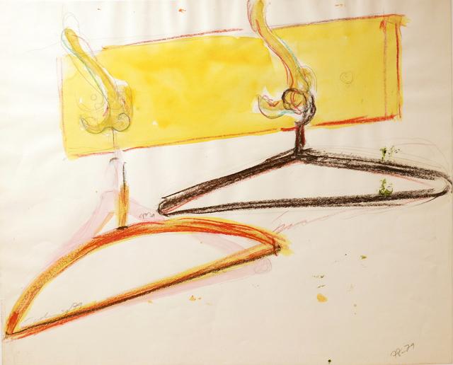 , 'O. T. (Garderobe mit Kleiderbügeln),' 1979, Galerie Ostendorff