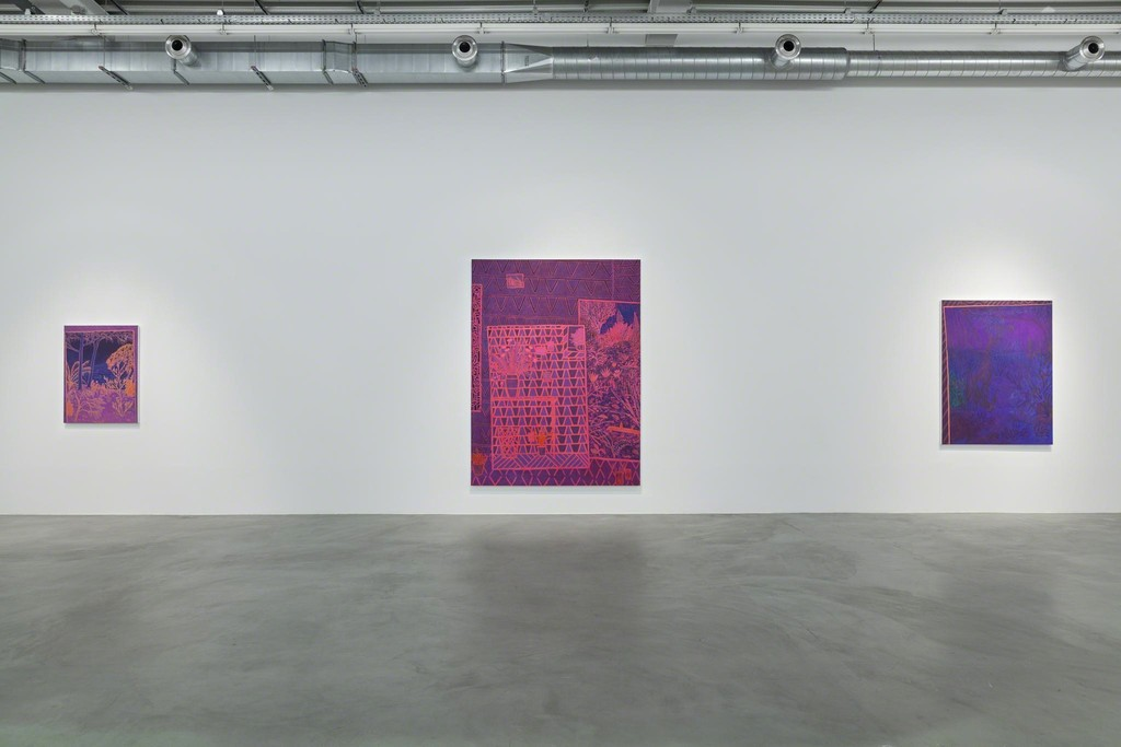 JOHN MCALLISTER 'RIOT ROSE SUMMERY'  Almine Rech Gallery, Brussels 10.03 — 14.04.16 © Sven Laurent - Let me shoot for you Courtesy of the Artist and Almine Rech Gallery