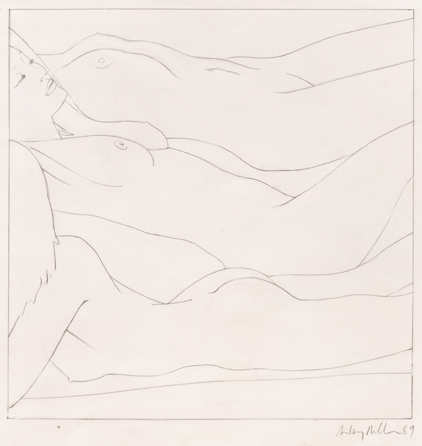 , 'Three on a Beach,' 1989, The Mayor Gallery