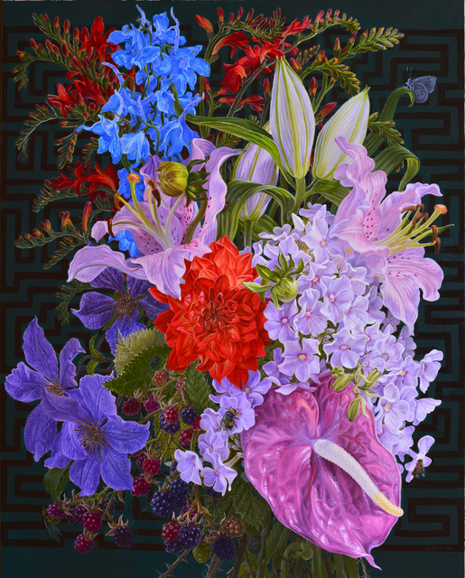 , 'Bouquet,' 2015, Gallery Henoch