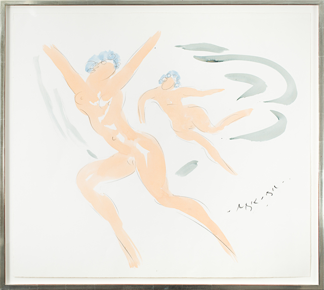 , 'Nymph and Cupid,' 1982-1985, Rosenberg & Co.