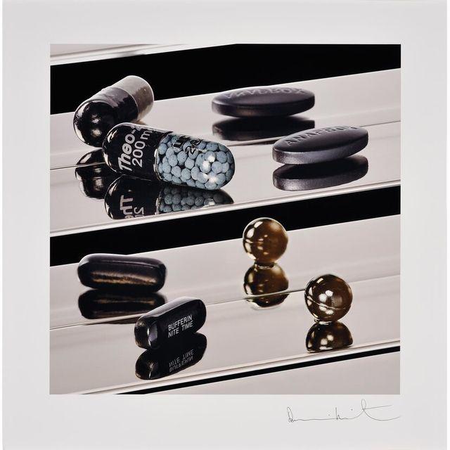 Damien Hirst, 'Damien Hirst, Dark Black Heaven (Nite Time)', 2012, Oliver Cole Gallery