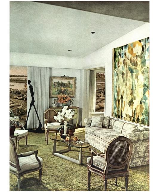 , 'House Beautiful: Giacometti,' 1967-1972, Seattle Art Museum