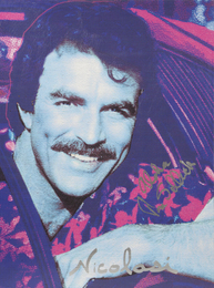 Portrait of Tom Selleck