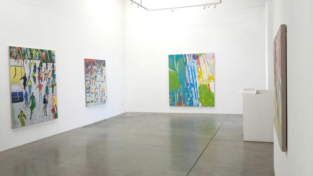 "David Kapp, ""New Work"" installation"