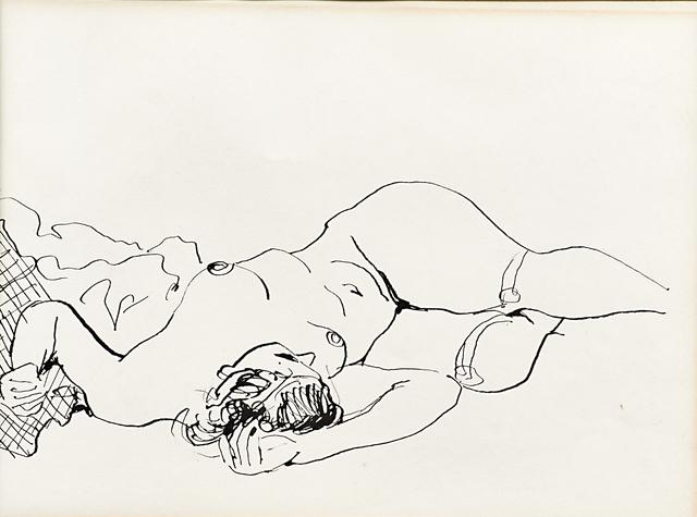 Walt Kuhn, 'Foreshortened Reclining Figure', 1928, Rago