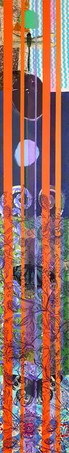 , 'Wallpaper K, Orange Stripes,' 2017, Newzones