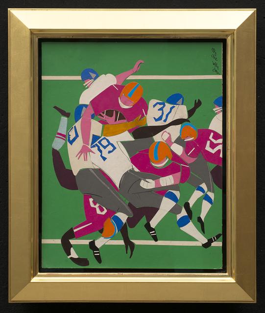 , 'Football Players ,' 1977, Aaron Payne Fine Art