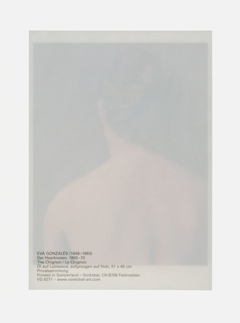 Claudia Angelmaier, 'Haarknoten', 2008, Galerie Kleindienst