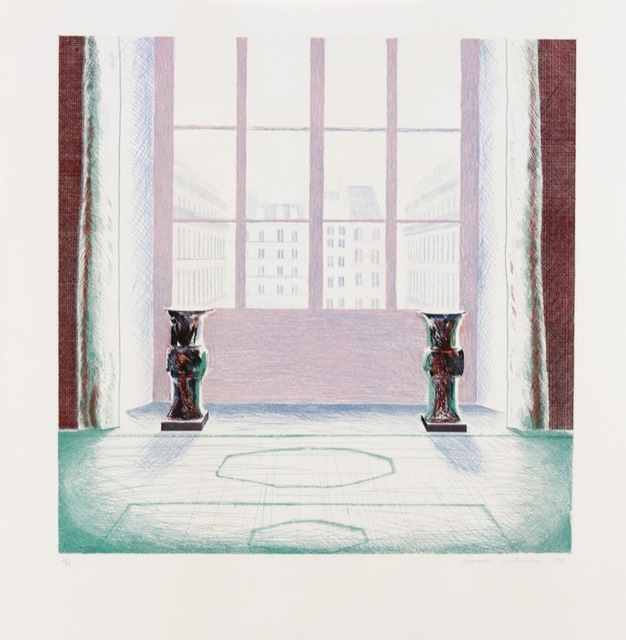 , 'Two Vases in the Louvre,' 1974, Lyndsey Ingram