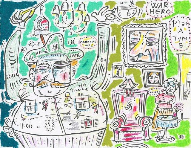 Ephraim Wuensch, 'War Hero', 2013, Lions Gallery